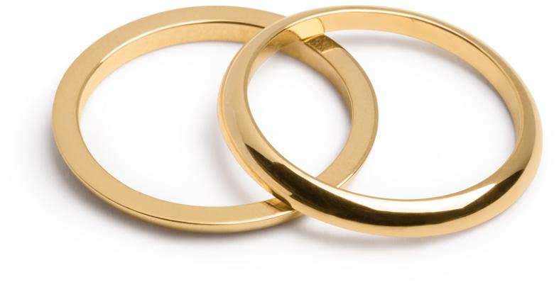 Half Wedding Ring by Marc Monzó