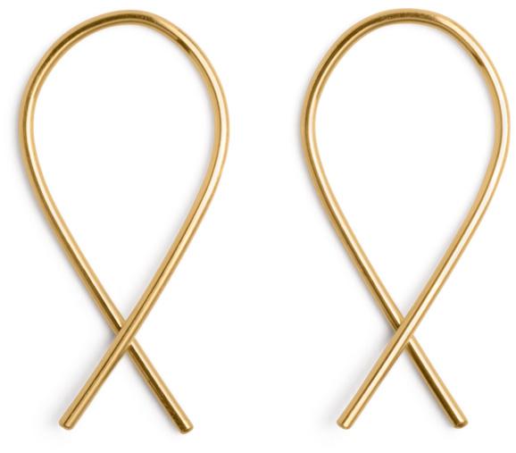 X earrings by Marc Monzó