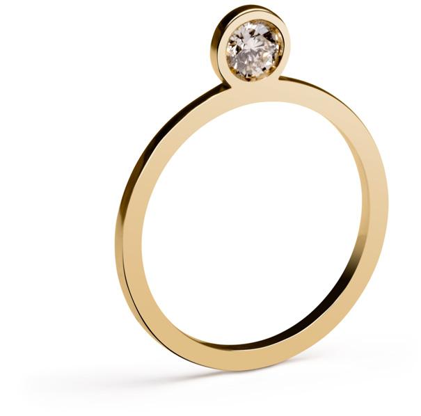 Flat Diamond Ring by Marc Monzó